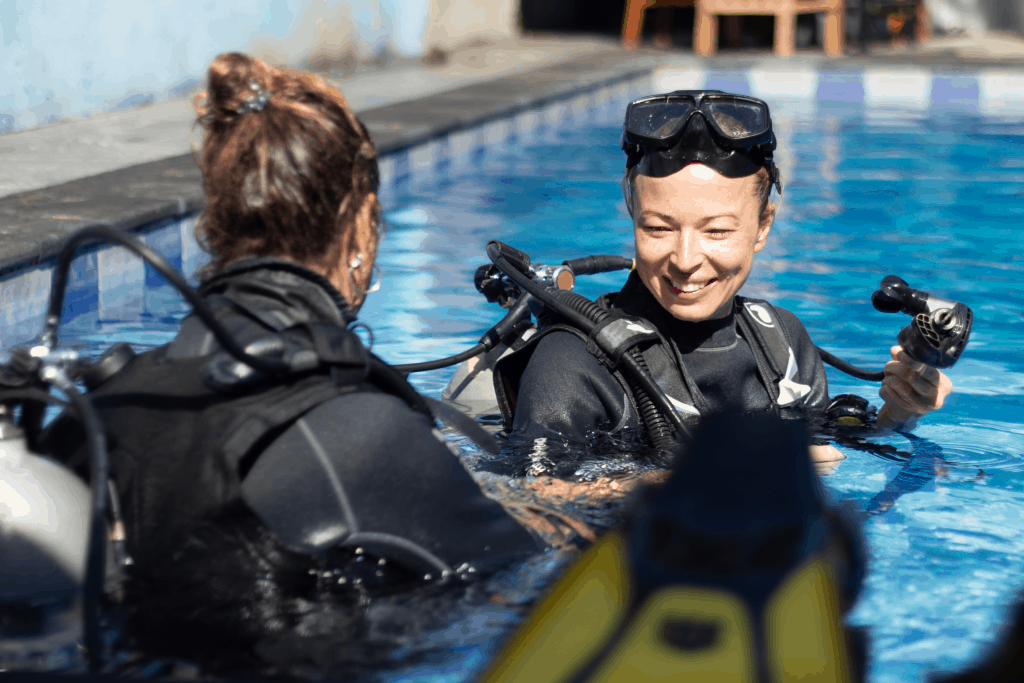 Find a job as a dive instructor