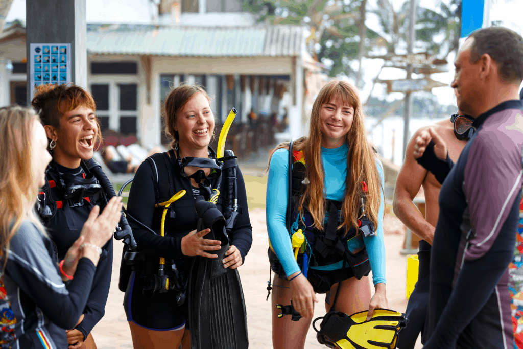 Find work as a dive instructor